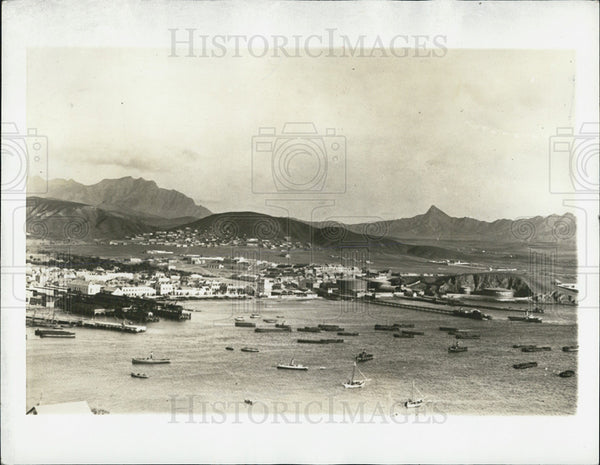 1941 Press Photo Cape Verde Islands Port of St. Vincent - Historic Images