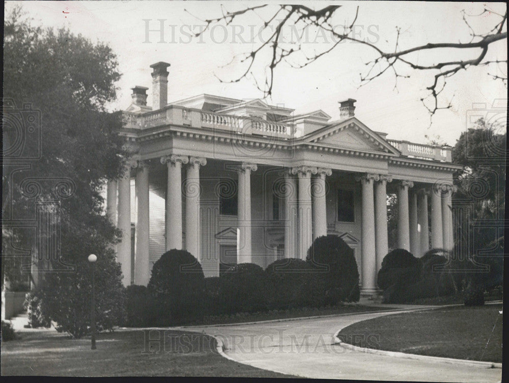 1941 Press Photo Governor's Palace in Illinois - Historic Images