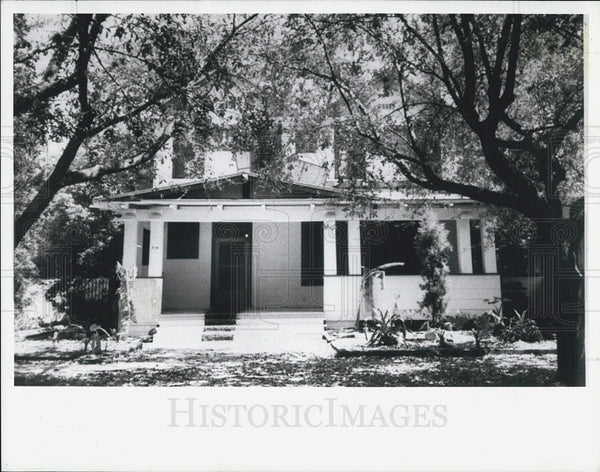 1988 Press Photo Hillsborough Homes the Cherry Flynn Home In Delaware Hyde Pk - Historic Images