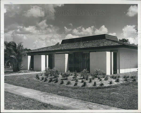 1966 Press Photo New housing in a Florida community - Historic Images