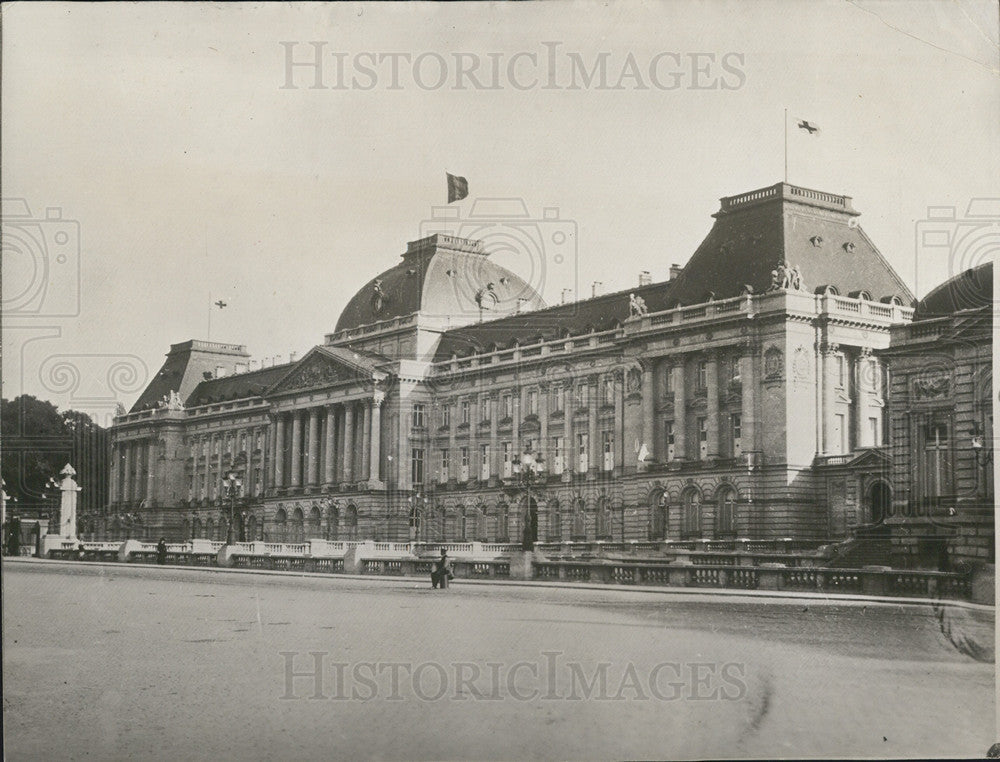 1914 Press Photo Belgium City of Brussels - Historic Images