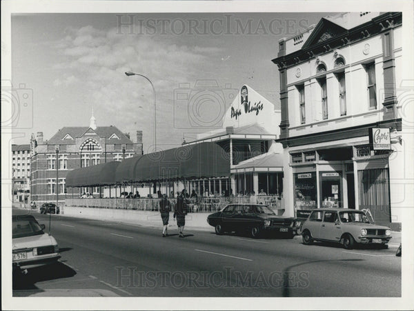 Press Photo Perth, Australia, Shops and Businesses - Historic Images