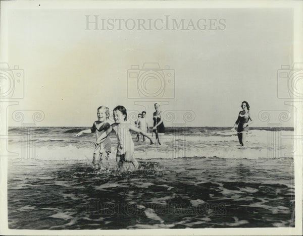 1940 Press Photo South Carolina Shoreline Dixieland trail tour - Historic Images