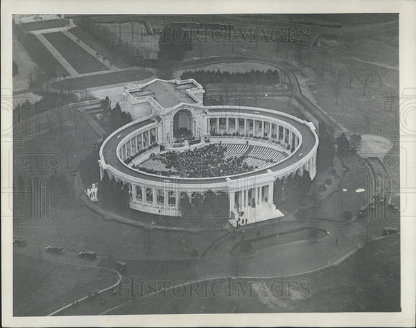1932 Press Photo Arlington Ampitheater in Washington, D.C. - Historic Images