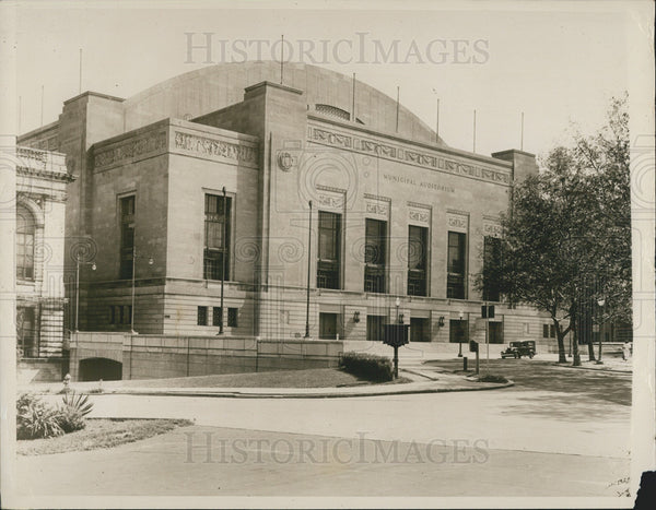 1940 Press Photo Philadelphia Convention Hall to host Republican Convention - Historic Images