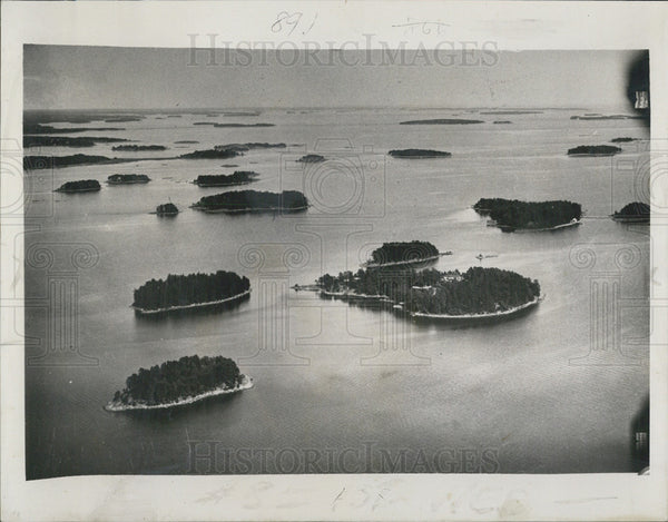 1939 Press Photo Aland Isands lie between Finland and Sweden - Historic Images