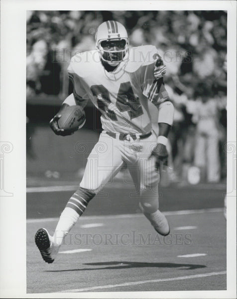 Press Photo Delvin Williams of the Miami Dolphins - Historic Images