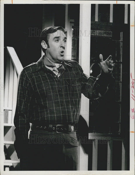 1969 Press Photo Jim Nabors in The Jim Nabors Hour - Historic Images
