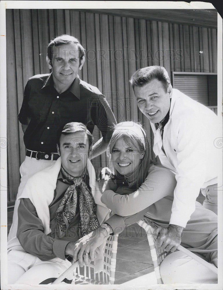 Cast Of Gomer Pyle U S M C 1971 Vintage Press Photo Print