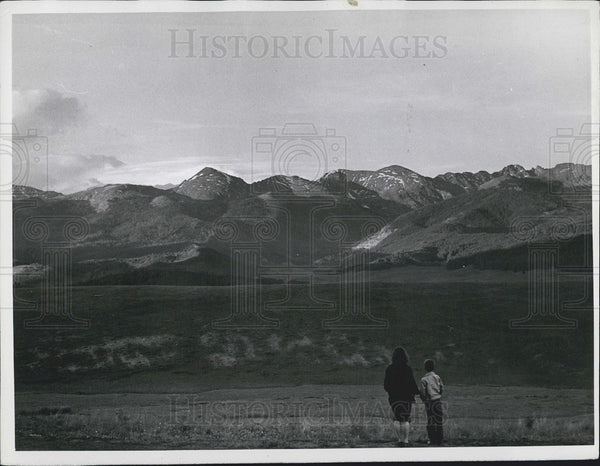 1962 Press Photo Yeoman Pass Colorado - Historic Images