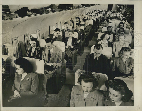 1945 Press Photo Boeing Aircraft of Seattle - Historic Images