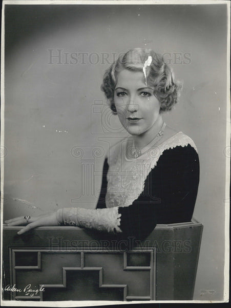 1931 Press Photo  Aileen Pringle - Historic Images