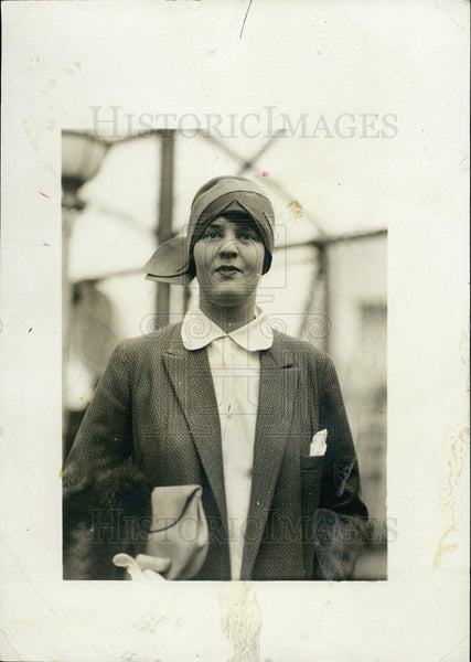 1928 Press Photo Mrs. Sinclair Lewis - Historic Images