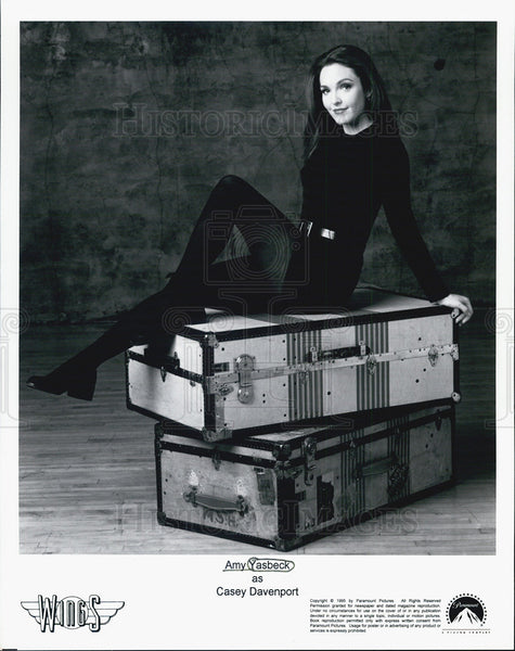 Press Photo Amy Yasbeck as Casey Davenport in Wings - Historic Images
