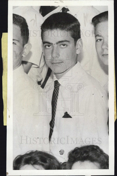 1969 Press Photo Plane Crash Victim Patrick Dumanski - Historic Images