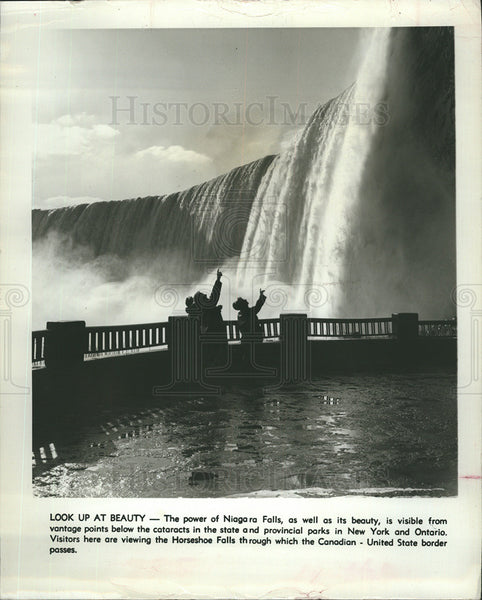 1967 Press Photo Niagara Falls - Historic Images