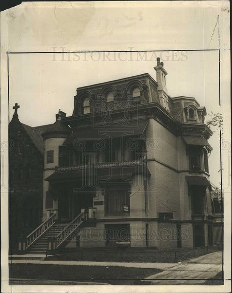 1929 Press Photo Chase House - Historic Images