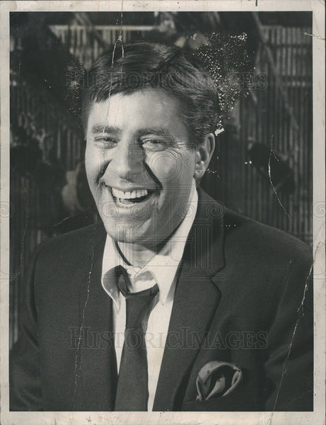 1969 Press Photo Jerry Lewis - Historic Images
