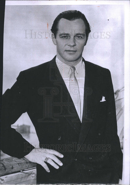 1956 Press Photo Christian Oscar of Hanover of Prince Great Britain and Ireland - Historic Images