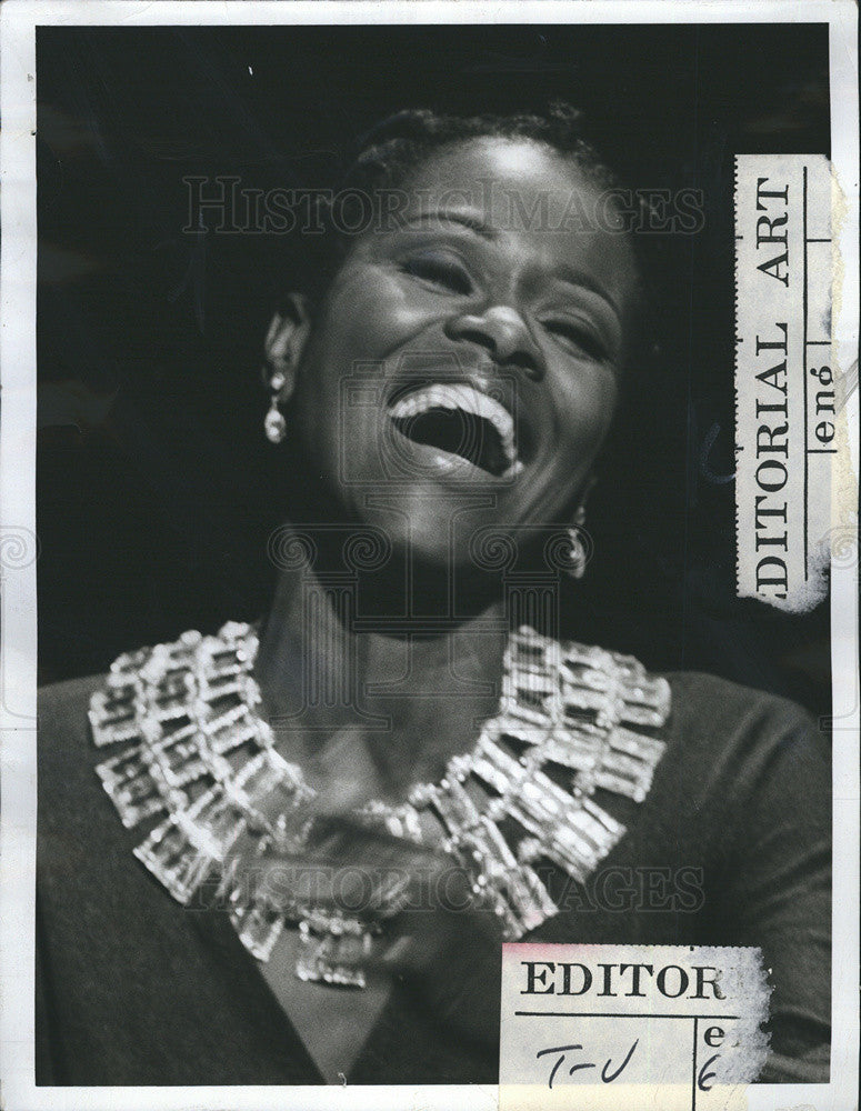 1973 Press Photo Cicely Tyson - Historic Images