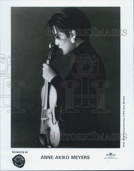 1993 Press Photo Concert Violinist Anne Akiko Meyers - Historic Images