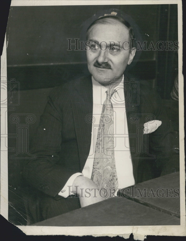 1929 Dr Amante Rongetti physician charged with murder for abortion - Historic Images