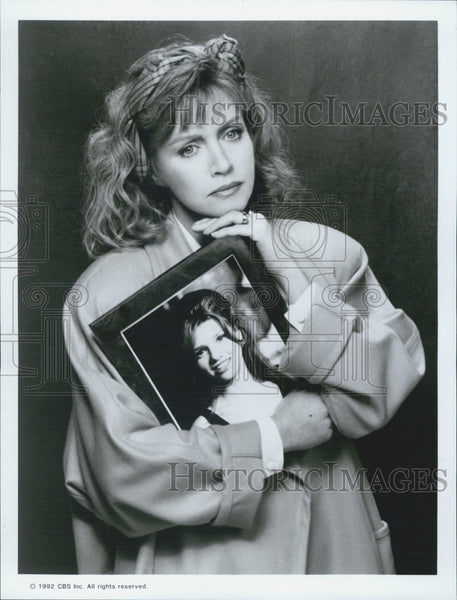 1992 Press Photo Donna Mills in TV movie In My Daugher's Name - Historic Images