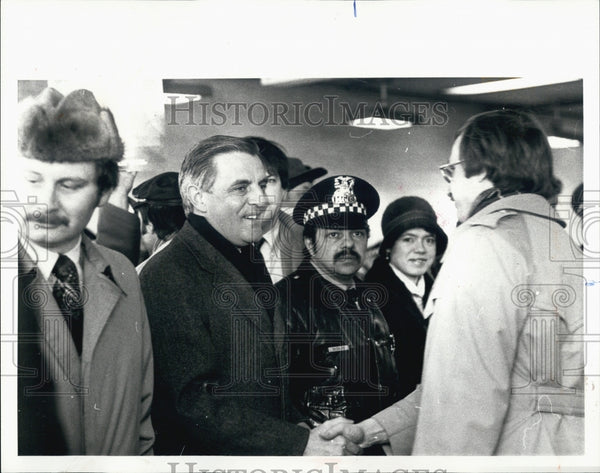 1980 Press Photo Vice President Walter F Mondale - Historic Images
