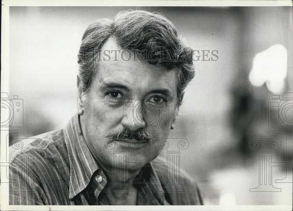 1979 Press Photo Actor Rock Hudson At New York City Rehearsal Hall For Play - Historic Images