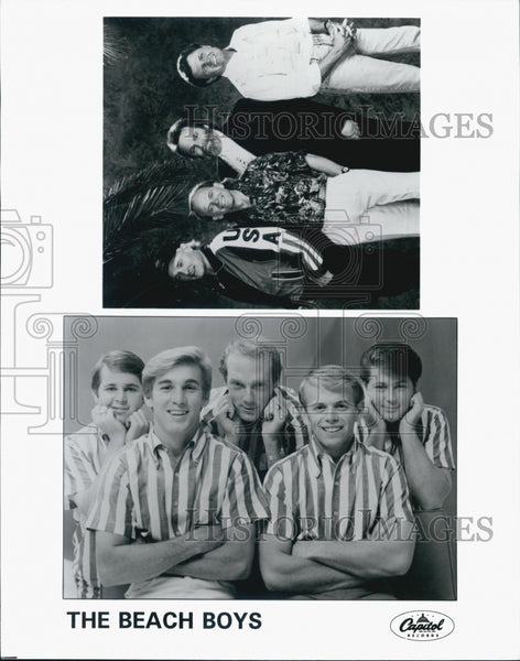 Press Photo The Beach Boys. - Historic Images
