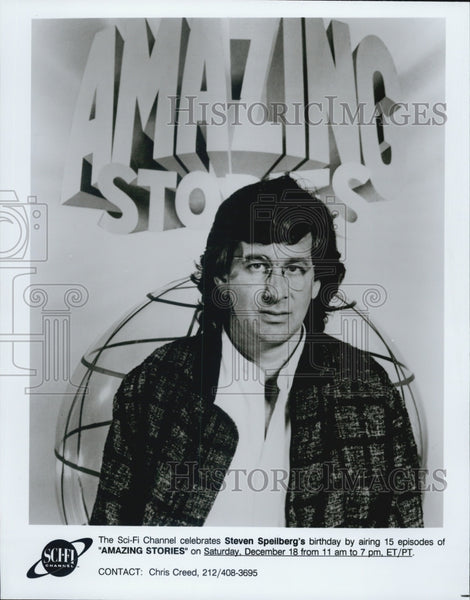 Press Photo Steven Spielberg Amazing Stories - Historic Images