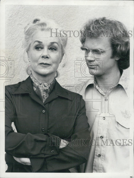"1979 Press Photo Actors James Stephens And June Havoc Star In ""The Paper Chase"" - Historic Images"