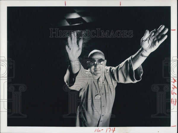 "1979 Press Photo Actor Telly Savalas Starring In ""The French Atlantic Affair"" - Historic Images"