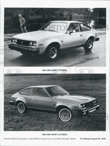1979 Press Photo 1980 AMC Spirit Liftback Car - Historic Images