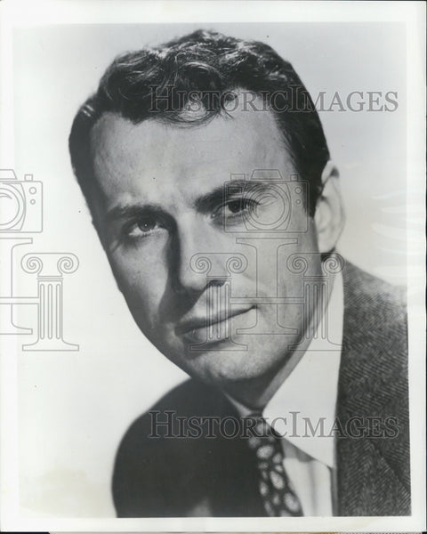 "Press Photo Richard Kiley in ""The Hidden River"" - Historic Images"