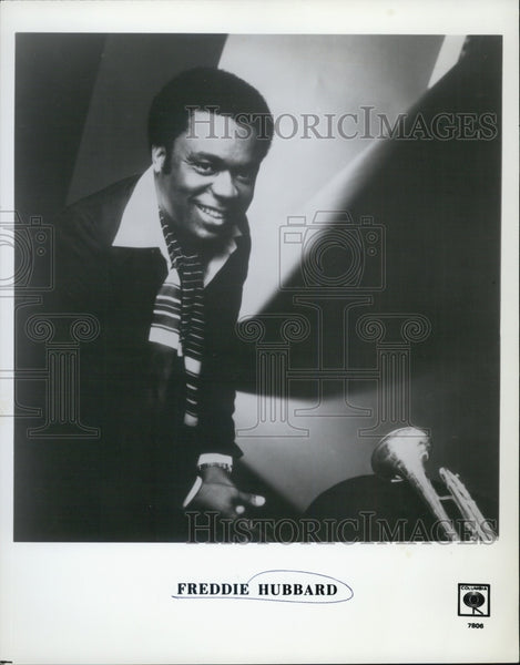 "1979 Press Photo American Jazz Trumpeter Frederick Dewayne ""Freddie"" Hubbard - Historic Images"