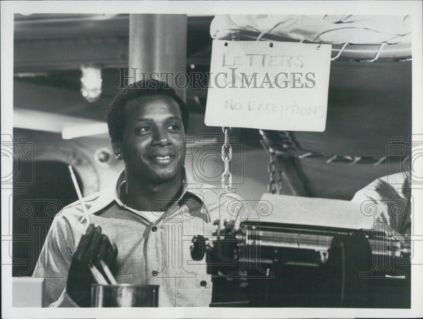 "1979 Press Photo Actor Damon Evans Starring In ""Roots: The Next Generations"" - Historic Images"