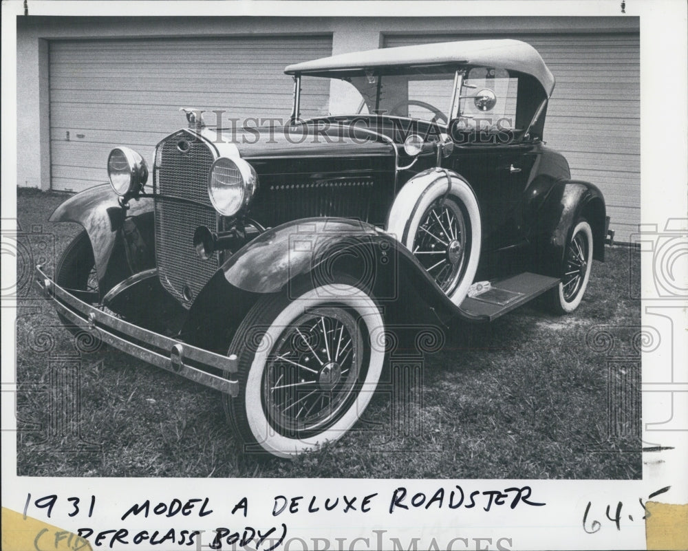 1931 Deluxe Roadster - Historic Images