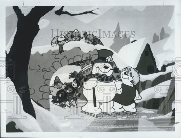 "1982 Press Photo ABC TV Presents Animated ""Frosty's Winter Wonderland"" - Historic Images"