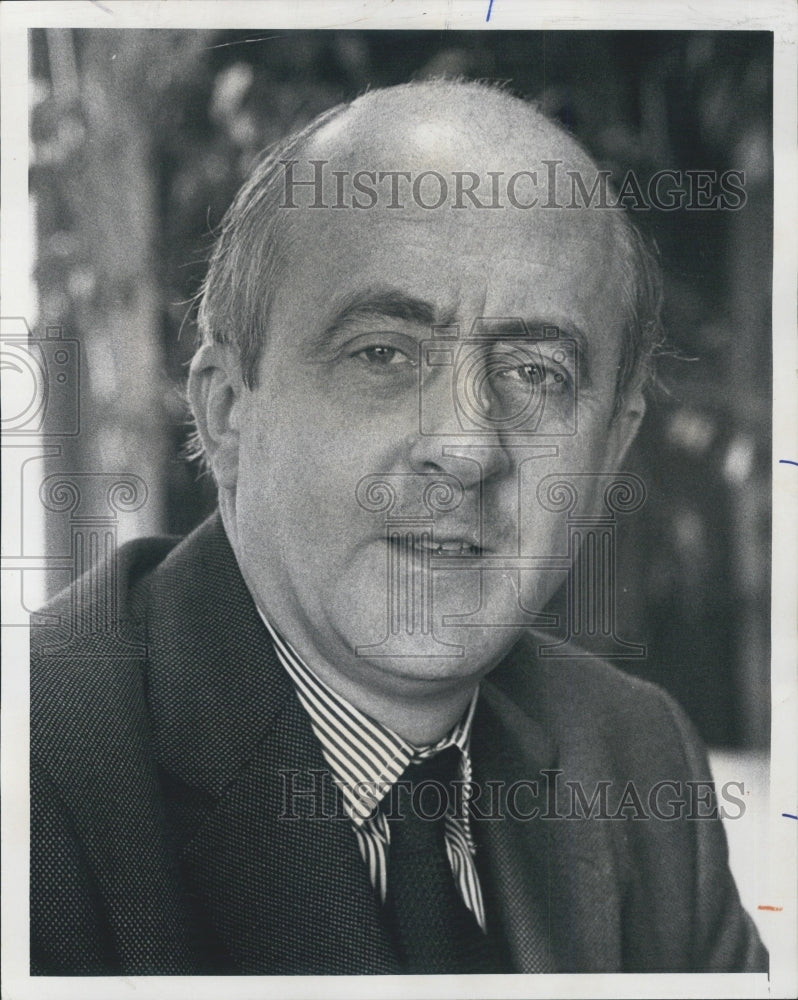 1970 Press Photo Phillippe Olivier, French Consul General - Historic Images