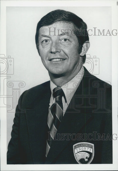 Press Photo Tony Trabert, TV commentator, instructor, and motivational speaker. - Historic Images