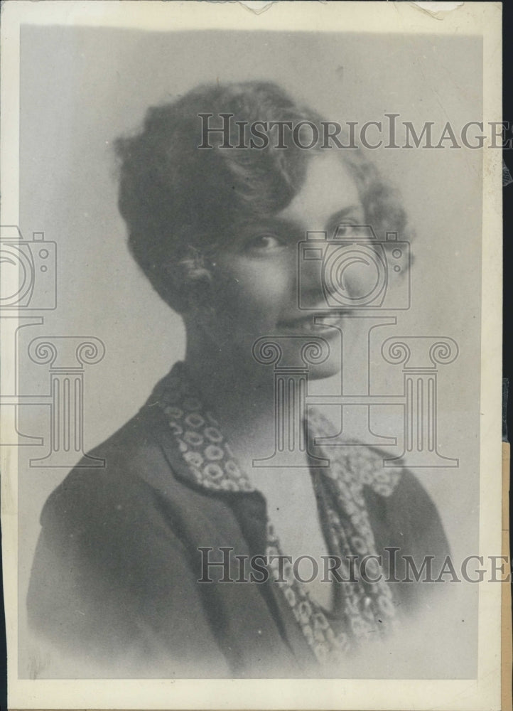 1929 Virginia Cooper First Jury Member For Albert Fall Trial - Historic Images