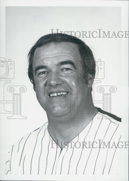 1979 Press Photo Herman Starrette, Philedephia Phillies - Historic Images