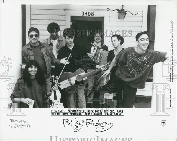 1994 Press Photo Poi Dog Pondering Susan Voelz Dick Ross Ted Cho Adam Sultan - Historic Images