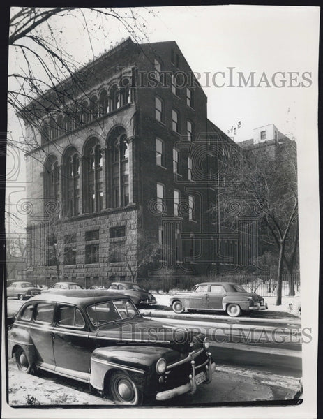 Press Photo Chicago's New Library - Historic Images