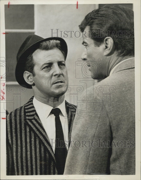 "Press Photo Paul Winchell Actor Portrays Troubled Man ""77 Sunset Strip"" TV Show - Historic Images"