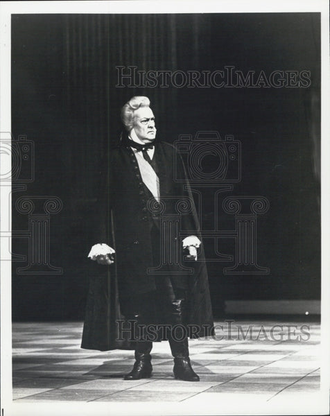 1979 Press Photo Cornell MacNeil Tosca - Historic Images