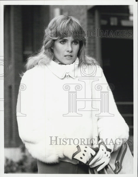 1982 Press Photo Kimberly Beck-Hilton Capitol Actress - Historic Images