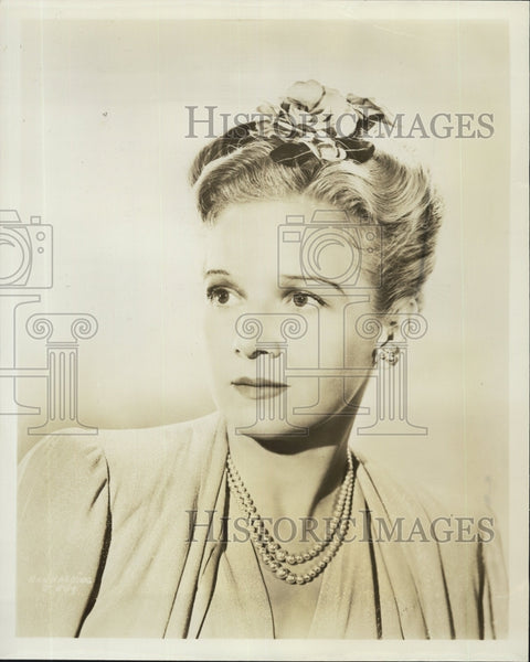 Press Photo Ann Harding actress - Historic Images