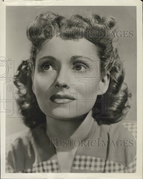 Press Photo Martha Scott American actress. - Historic Images